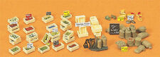 Preiser Fruit & Vegetable Boxes 17501 HO Scale (suit OO also)