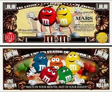 M & M's . MARS INC. Million Dollar USA. Billet de commémoration / Collection