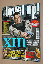 Magazin Heft Ausgabe 06 Level Up! XIII Resident Evil Jak II Clock Tower Aliens