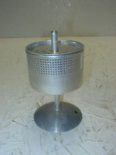 "Vintage Cup Coffee Pot Percolator, Complete Metal Basket Strainer 4 3/4"" Tall"
