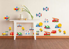 Cars Trucks Ducks Plane wall stickers for boys room. Brand new