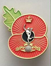 Royal corps Of signals ( RCS ) Poppy Pin