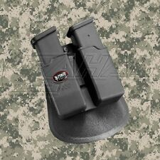 Fobus Double Magazine Paddle Pouch - Glock, H&K USP 9mm/.40 - 6900