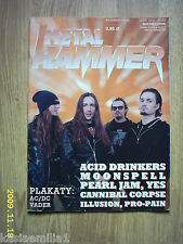 ACID DRINKERS on front cover Metal Hammer 3/1998 Polish magazine