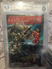 Marvel Guardians Of The Galaxy # 1 Cbcs 9.8 Not Cgc Graded Campbell Variant