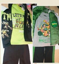 New winter outfits sz 7 Teenage mutant ninja turtles sweate vest pants lot tmnt