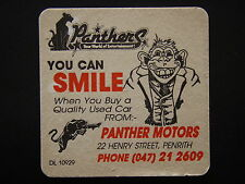 PANTHERS PANTHER MOTORS 22 HENRY ST PENRITH 047 212609 COASTER