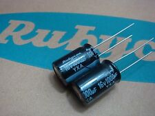 20 X Original Rubycon 16V 1000UF Electrolytic Capacitor 10x16mm