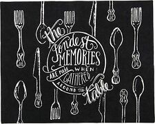 THE FONDEST MEMORIES... AROUND THE TABLE Placemats Set of 4, Primitives by Kathy