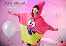 american street cartoon visual spongebob patrick star cosplay hoodie 【JLY0005】