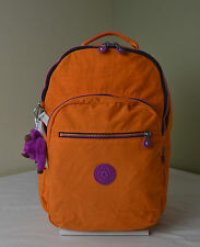 Kipling BP3907 Seoul  Popsicle Orange Backpack with Laptop Protection