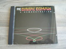 hifi test CD audiophile *EX+* THE DIGITAL DOMAIN A Demonstration *1983 ORIGINAL*