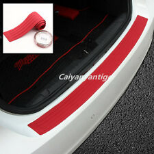 Auto Car Rear Bumper Sill/Protector Plate Rubber Cover Guard Pad Moulding Trim