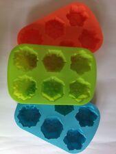 Molde de silicona 6 x para hacer magdalena Cupcake Pastel varios colores