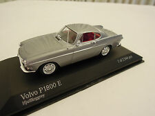 Minichamps Volvo P 1800 Coupe Grey 1/43 Scale New in Box Ships From USA