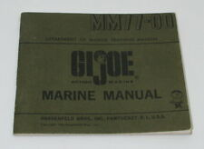 Vintage GI Joe Marine Manual MM77-00 GI2080