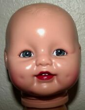 "Horsman "" Baby Dimples"" Doll  Head with holder 1990 Horsman Dolls, INC-MINT !"