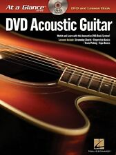 At A Glance Acoustic Guitar Learn Play Strum Fingerstyle Capo Music Book & DVD