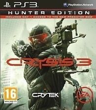 Crysis 3 -- HUNTER EDITION (SONY PLAYSTATION 3, 2013, DVD-BOX)
