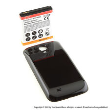 5600mAh extended battery for Samsung Galaxy S 4 IV i9500  + Black cover