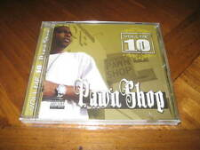 Volume 10 - Pawn Shop - West Coast Compton Rap CD - Black Silver