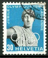 SWITZERLAND - SVIZZERA - 1944 - 50° del Comitato Olimpico Internazionale