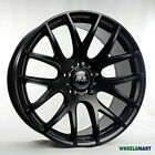 "OX111 19x8.5"" 5x114.3 38P Flat Black Alloy Wheel Rim for some Ford Nissan Toyota"