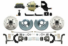 Mopar 1962-74 B & E Body LX Power Disc Brake Conversion Kit & Adj. Valve