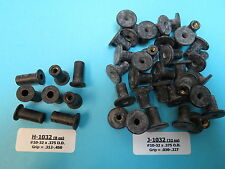 #10-32 Rubber Well Nuts 40 pcs/2 Sizes Motorcycle Aircraft Golf Cart Fairings