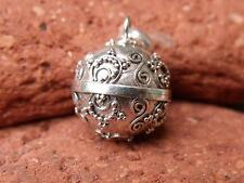 SILVERANDSOUL HARMONY BALL/CHIME BALL BALINESE 925 STERLING SILVER PENDANT