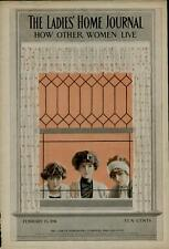 1911 LADIES HOME JOURNAL COVER / ARTISTS: C.COLES PHILLIPS
