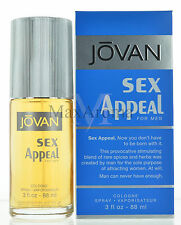 Sex Appeal by Jovan for Men Cologne 3 OZ 88 ML Brand new in box