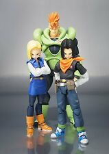 "Dragonball Z ~ SH Figuarts 6"" ANDROID 16, 17 & 18 SET - BANDAI - OFFICIAL U.S."