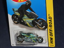 Hot Wheels HW OFF-ROAD Moto #126  Canyon Carver  Green w/ MCW3s