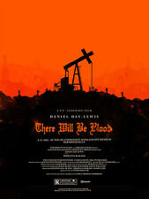 "There will be blood MOVIE Fabric poster 32"" x 24""  Decor 05"