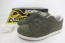 Adio Quality Footwear 'Stanley' Green Suede Skateboarding Shoes US  7/39.5 NEW