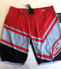 Alpinestars Men's Board Shorts HD3 Plyometric Red/Grey Size 33 NWT Villopoto