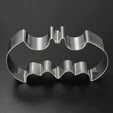 1pc DIY Stainless Batman Cake Cookies Chocolate Cutter Mold Wedding Cake Toppers