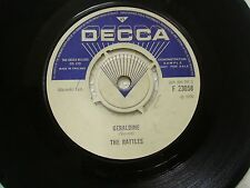 THE RATTLES THE WITCH/GERALDINE demo not for sale promo DECCA SINGLE ENGLAND  VG