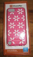 XtremeMac Pink Floral Silicone iPod Touch Case 5th Gen - New in Package