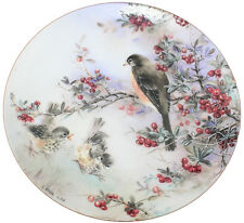WS George Nature's Poetry Plate Delicate Accord by Lena Liu