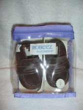 ROBEEZ Mini Shoez Shoes Slippers Sz 2 Espresso Loafer NIP
