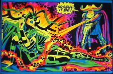ODIN RESURRECTION OF HELA MARVEL THIRD EYE Black light poster TE 4010 BUSCEMA