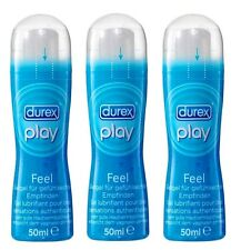 (14,31€/100ml) 3x 50ml Durex Play Feel Gleitgel Intensivgel Erotik Sex 3er