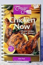 Companys Coming CHICKEN NOW Jean Pare Original Series Cookbook Recipes 1180