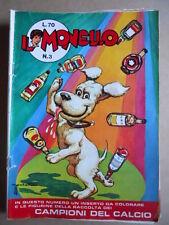 IL MONELLO n°3 1971 con poster caricatura Fiorentina [G392]