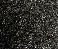 Black RANDOM CUT Glitter ideal for glitter nail art - not rockstar toes