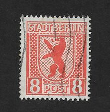 GERMANY RUSSIAN ZONE 8pf STADT BERLIN LH (C1)