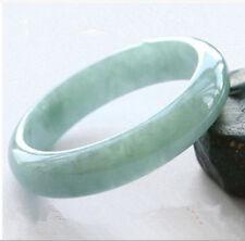 Light Green Natural Hetian Jade Jadeite Bangle Bracelet Vintage Gems 61-62mm A5