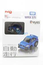 Takara Tomy Choro-Q Q-Eyes QE-02 Subaru Wrx Sti Tomica Toy Car Autonomous Drive